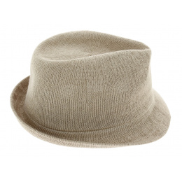 Trilby Bamboo Arnold Beige Hat - Kangol