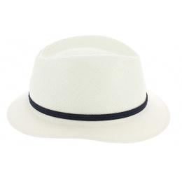 Chapeau Fedora Panama Blanc - Fléchet