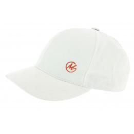 Casquette Baseball Coton Blanc - Modissima