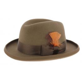 Homburg Saks Stetson Hat
