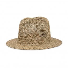 Fedora Dunns Natural Straw Hat - Brixton