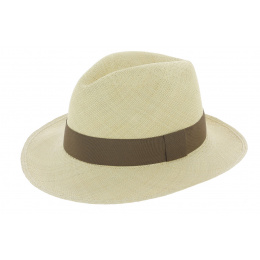 Chapeau Traveller Caoba Panama Naturel - Traclet