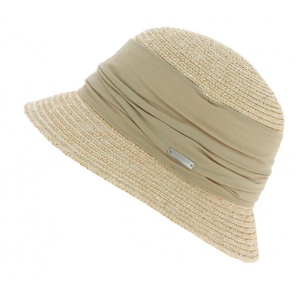 Straw bell hat
