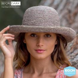 Chapeau Breton  Raffia  Anoucka - Rigon Headwear