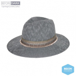 Traveller Hat Claudia Grey - Rigon Headwear