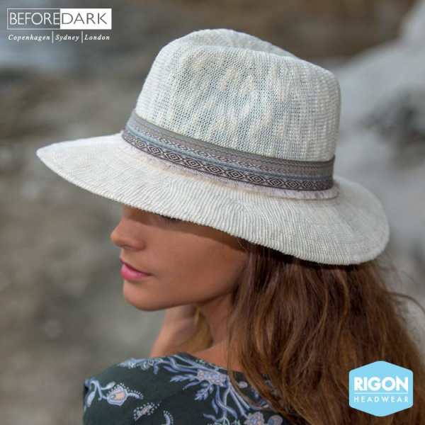 Chapeau Traveller Claudia Gris - Rigon Headwear