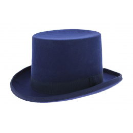 Top hat - Blue