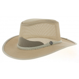 Traveller Hat Cabana Mesh Ivory - Headn'Home