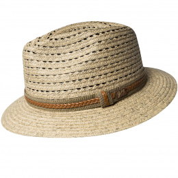 Fedora Garrell Paper Hat - Bailey