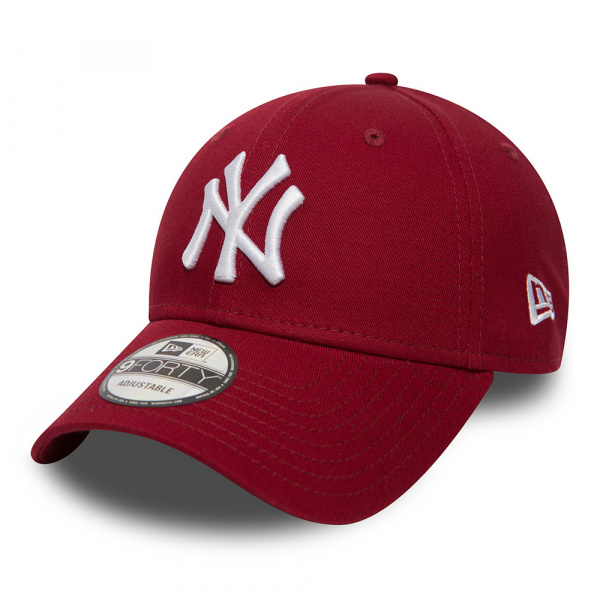 Casquette Baseball Essential 9Forty NY Rouge - NEw Era
