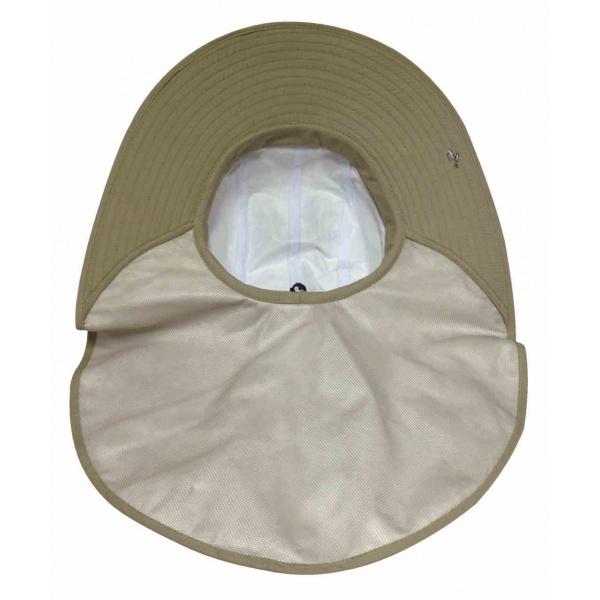 Chapeau Cache-Nuque Haute Protection Beige - Soway