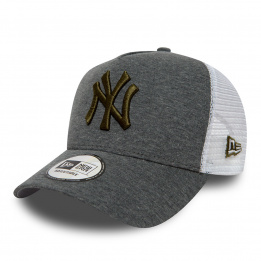 Casquette New York Yankees Grise Essential A Frame Trucker