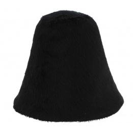 Chapeau cloche feutre poil