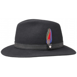 Black Stetson hat Hampton Traveller