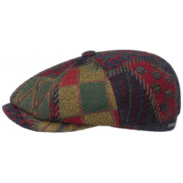 Casquette Hatteras Upholstery patchwork - STETSON