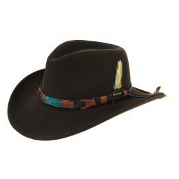 Kingsley Stetson Hat Brown