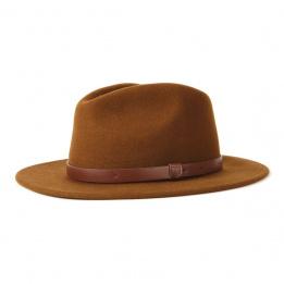 Chapeau traveller Messer COGNAC- Brixton