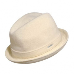 Chapeau Wool player Blanc - kangol