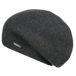 Bonnet Shirley Cachemire Anthracite - Stetson