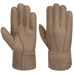 Gants Gloves en cuir Beige - Stetson