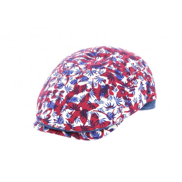 Beret casquette fleuris