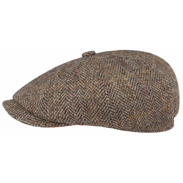 Casquette Hatteras Lewes Harris Tweed - STETSON