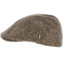 Casquette plate Hereford Tweed - City Sport