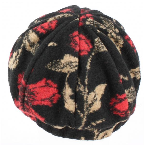 Cap Gavroche Ebony Virgin Wool - Arrow