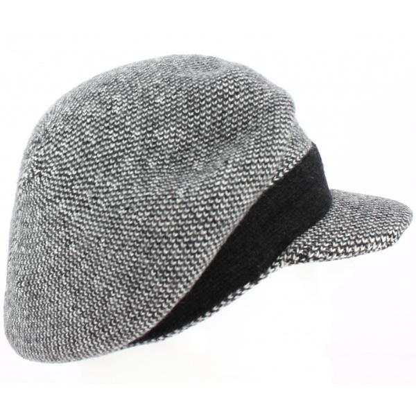 Bonnet casquette Gregorio Noir - Fléchet