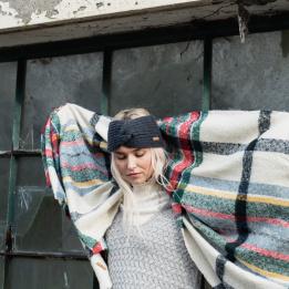 Bandeau femme Désire Anthracite - Barts