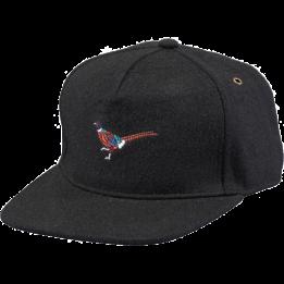 Casquette visière plate Pheasant  Noir - Barts