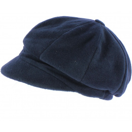 Casquette gavroche Abby polaire Marine - TRACLET