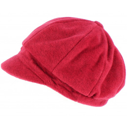 Casquette gavroche Abby polaire Bordeaux- TRACLET