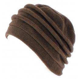 Jacobins Brown Polar Toque Cap - TRACLET