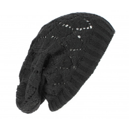 Bonnet Oversize Cheyenne Noir- Traclet