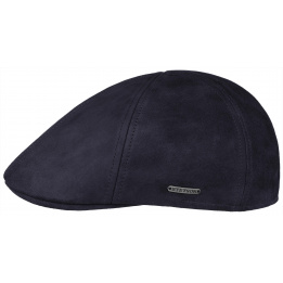 Cap Allen Leather Navy- Stetson