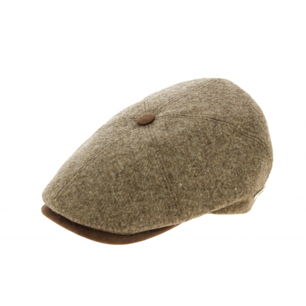 casquette Orlane Laine Vierge Beige - Traclet