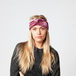 Bandeau Facile Headband Velours Vieux Rose- Barts