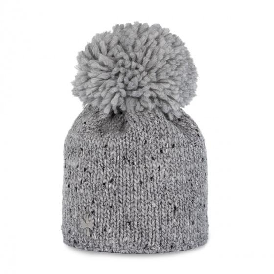 Ortona Grey Pompon Hat - Pipolaki