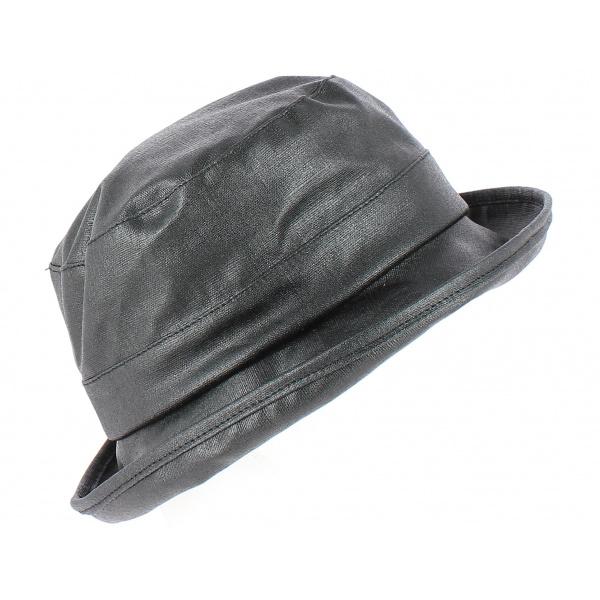 Chapeau Cloche de pluie  Suzanne Noir - CRAMBES