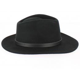 Chapeau Traveller Nilson Feutre Laine Noir- Traclet