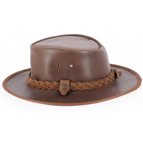 Chapeau Traveller  cuir Winton  - Aussie Apparel