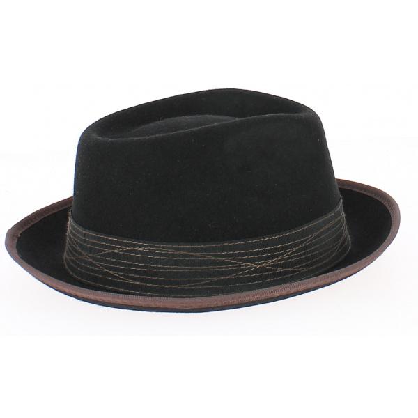 Pork Pie Hat - CLARK NERO