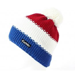Bonnet Pompon Star Bleu Blanc Rouge - Eisbär