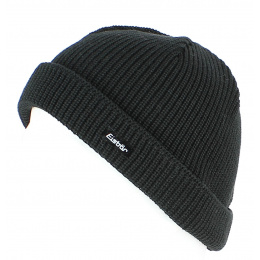 Short Hat Pat MÜ Wool Black - EISBÄR