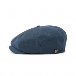Casquette Plate Brood Bleu Profond- Brixton