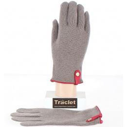 Gants Tactiles Séville Laine & cachemire Beige- Traclet