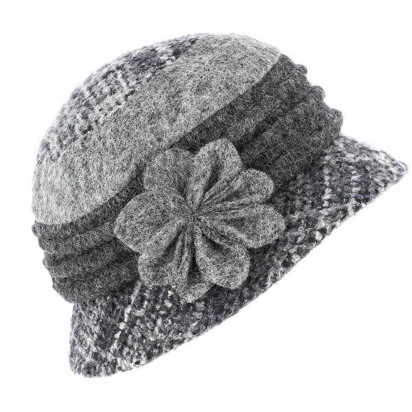Lucie Lucie Hat Grey Wool - Traclet