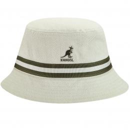 Bob Stripe Lahinch Coton Beige - Kangol