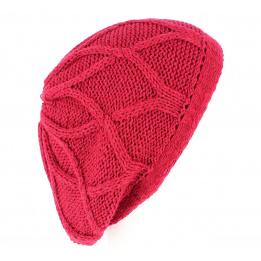 Women knit beret